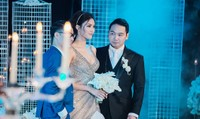 Lan Khuê rạng rỡ trong ngày cưới doanh nhân John Tuấn Nguyễn