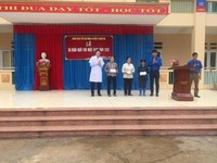 Trung tâm Y tế huyện Thanh Ba: Ra quân ngày Chủ nhật xanh, chào đón tháng Thanh niên