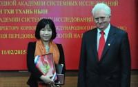 Nữ Viện sĩ Việt Nam đầu tiên nhận danh hiệu Viện sĩ xuất sắc nhất IASS và ngôi sao Vernadski