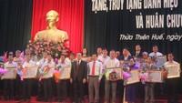 """Phong tặng danh hiệu cho 176 """"Bà mẹ Việt Nam Anh hùng"""" ở Huế"""