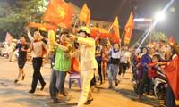Công an TT. Huế nỗ lực đảm bảo giao thông sau chiến thắng của U23 Việt Nam