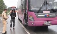Huế:  Tăng cường kiểm tra, xử lý xe khách