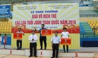Trao thưởng Giải vô địch trẻ Judo toàn  quốc