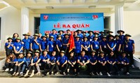 """Huế: Lễ ra quân chiến dịch sinh viên tình nguyện """"Mùa hè xanh"""" 2018"""