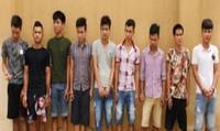 Bắt nhóm đối tượng chuyên trộm cắp xe máy các công sở Thanh Hóa