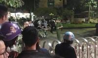 Hai nhóm thanh niên truy sát nhau trong đêm, công an phải nổ súng