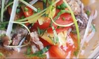 Canh chua bò nấu dứa ngon cơm