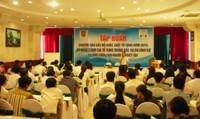 Hoàn thành Kế hoạch tập huấn các Bộ luật, Luật tố tụng 2015 cho người thực hiện trợ giúp pháp lý trên toàn quốc