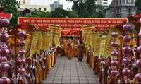 Tưng bừng không khí Đại hội đại biểu Phật giáo toàn quốc lần thứ VIII