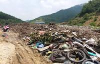 """Quảng Ninh: Ám ảnh cuộc sống bên cạnh """"núi thối"""""""