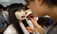 Không gian ma mị của lễ hội Halloween lớn nhất Hạ Long năm 2017