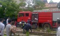 Cháy tại nhà trọ sinh viên ở Cổ Nhuế, Hà Nội