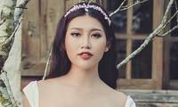 Lucky model' Quỳnh Châu lộng lẫy trong khung cảnh đầy thơ mộng