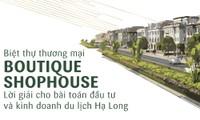 [Infographic] 5 lý do khiến giới đầu tư mini hotel mê Boutique Shophouse Hạ Long