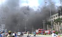 Công ty may Kwong Lung Meko ở Cần Thơ lại bốc cháy