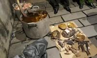 """Đồng Nai: Phát hiện lò nấu cao """"khủng"""" tại Biên Hòa"""