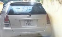 Bắc Ninh: Khuất tất quanh chiếc xe Innova bị coi là vật chứng