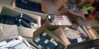 Phát hiện cửa hàng tạp hóa nhập lậu hơn 3000 bao thuốc lá ngoại