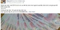 Cảnh giác với chiêu trò lừa bán tiền giả trên mạng xã hội