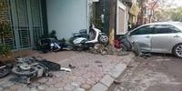 Các góc quay video xe Camry đâm tử vong 3 người