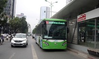 Đề xuất thí điểm vé điện tử trên tuyến buýt nhanh BRT