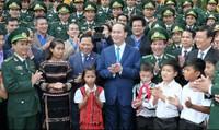 Gặp mặt 60 đại biểu Bộ đội Biên phòng 'Chia sẻ cùng thầy cô'