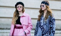 Cách phối đồ cùng mũ beret sành điệu