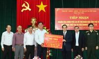 Chính phủ Lào hỗ trợ người dân Việt bị thiệt hại bởi bão số 12