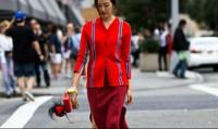 Trở thành tâm điểm cùng phong cách all-red