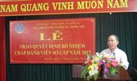 Hà Nội: Tổ chức Lễ trao Quyết định bổ nhiệm Chấp hành viên sơ cấp năm 2017