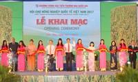 Cần Thơ:  Khai mạc Hội chợ Nông nghiệp Quốc tế Việt Nam 2017