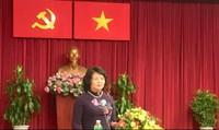 Phó Chủ tịch nước tiếp Ban Thường vụ Hội Luật gia dân chủ quốc tế và Ban Chấp hành Hiệp hội Luật gia Châu Á – Thái Bình Dương