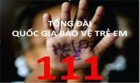 Tổng đài điện thoại bảo vệ trẻ em 111 chính thức kết nối trên cả nước