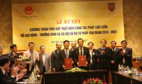 Bộ LĐ–TB&XH, Bộ Tư pháp: Ký chương trình phối hợp thực hiện công tác pháp luật
