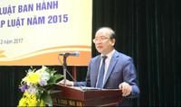 Trăn trở của Thứ trưởng Phan Chí Hiếu đối với việc thực hiện Luật VBQPPL