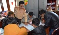 Lâm Đồng: Triệu tập hàng chục thanh niên tổ chức đua xe trái phép