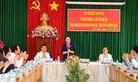Chủ tịch Quốc hội Nguyễn Thị Kim Ngân làm việc tại Côn Đảo