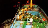 Xem tàu 67 đánh lưới rê  dài 14 cây số