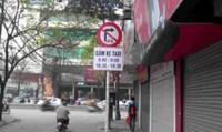 Hà Nội: Hàng loạt tuyến phố cấm taxi hoạt động