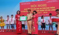 CSGT Hà Nội cùng Sở GD&ĐT tuyên truyền pháp luật về ATGT