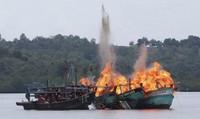 Quyết liệt ngăn chặn ngư dân khai thác trái phép tại vùng biển nước ngoài