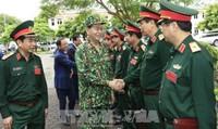 Chủ tịch nước Trần Đại Quang giao nhiệm vụ cho Bộ Quốc phòng