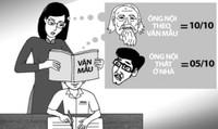 'Xôn xao' sau lá đơn xin 'ly dị' môn Văn