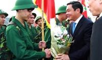 Hà Nội đi đầu trong tuyển chọn  công dân nhập ngũ