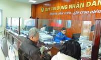 Cấm quỹ tín dụng nhân dân cất giấu tài sản trong quá trình tổ chức lại