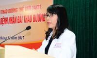 Khám miễn phí cho bệnh nhân đái tháo đường tại Bệnh viện Trung ương Huế