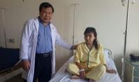 Nữ công nhân bị chứng u nang nguy hiểm hiếm gặp