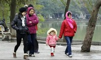 Tuần này nhiệt độ Hà Nội còn giảm sâu