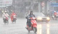 Cảnh báo mưa diện rộng ở Bắc Bộ và miền Trung
