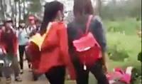 Nữ sinh bị đánh hội đồng vì mâu thuẫn trong câu nói